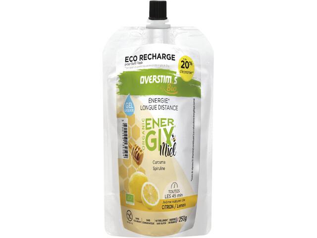 OVERSTIM.s Energix Organic Honey Liquid Gel Zakje 250g, Lemon & Turmeric